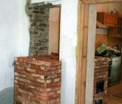 Piec Kuzniecowa w budowie